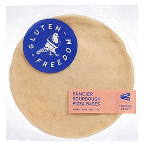 Gluten Freedom Fancier Sourdough Pizza Bases